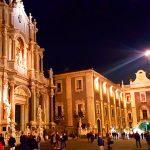 Catania, la sera