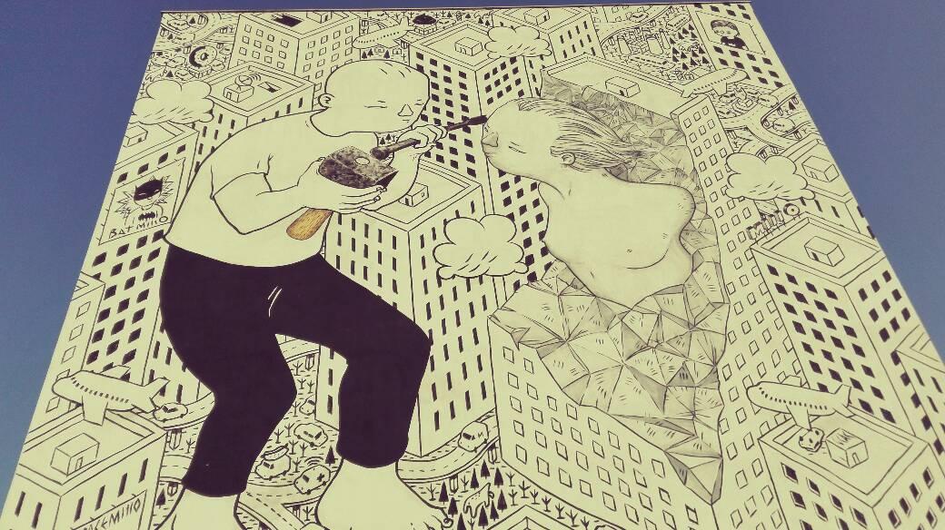 Millo murales Ragusa