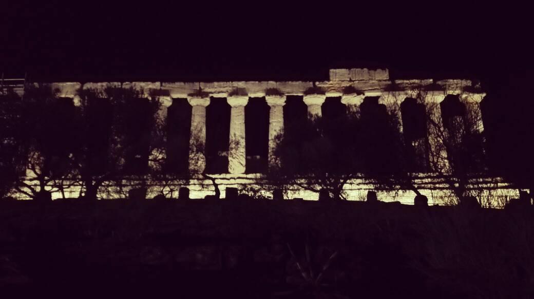 Tempio della Concordia visto di lato