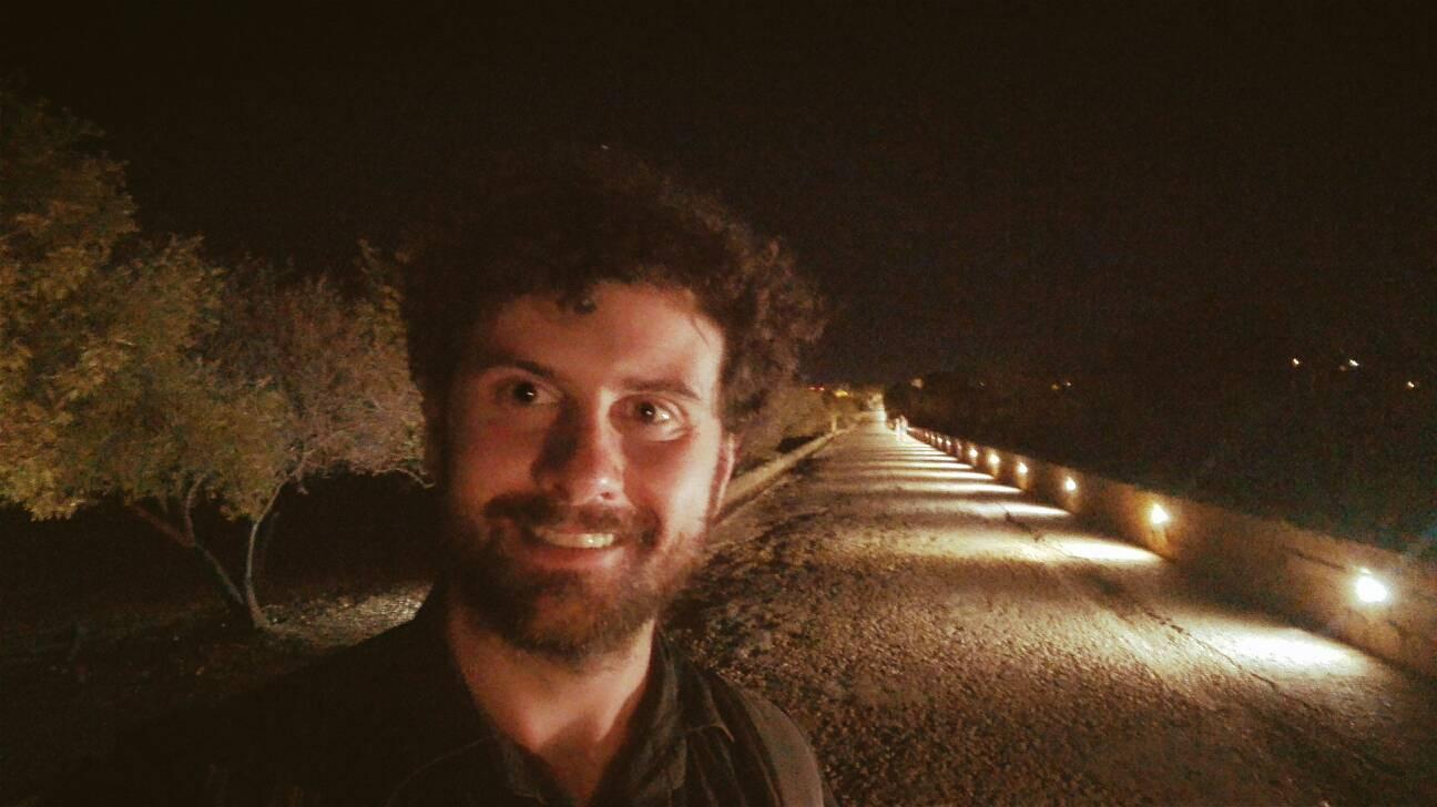 valle dei templi di agrigento di notte