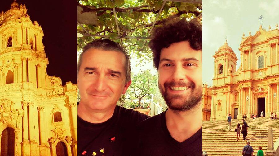 Modica, Noto e la storia di Piero, che ha cambiato vita