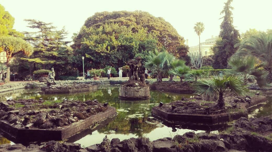 fontana giardino inglese