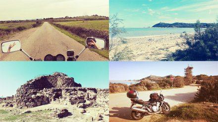 viaggio in moto in Sardegna